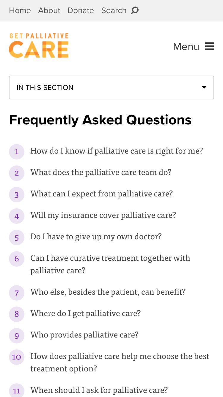 get palliative care | sumit paul